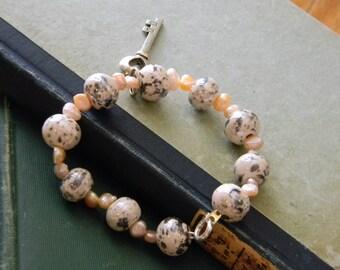Heart's Key Bracelet