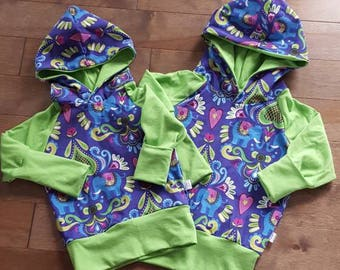 CLEARANCE, ready to ship, evolutionary Hoodie, elephants, clothing baby grow with me