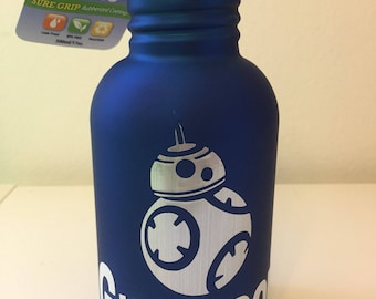 Personalized Toddler Stainless Steel Water Bottle