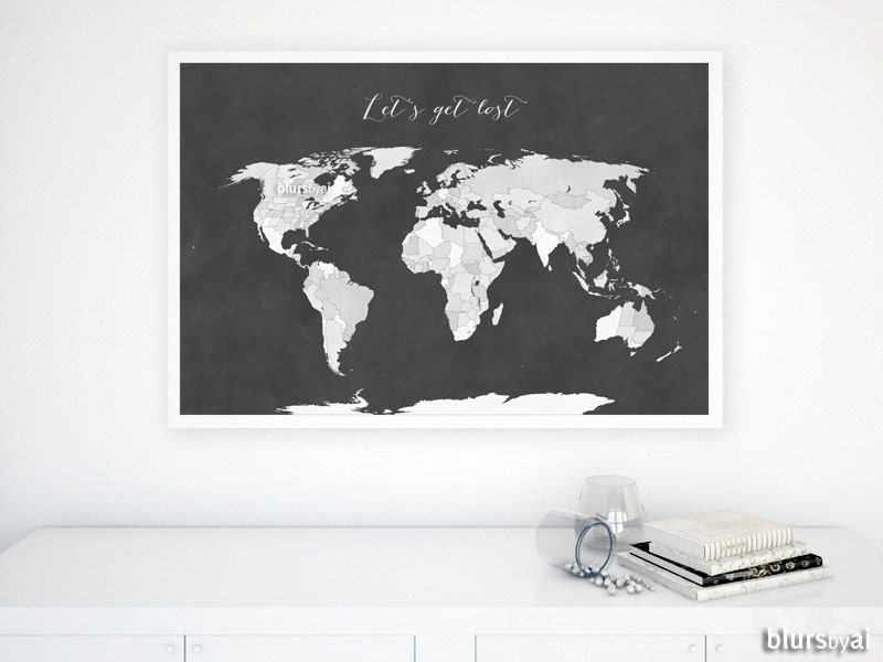 36x24 printable world map with us states black white world zoom gumiabroncs Image collections