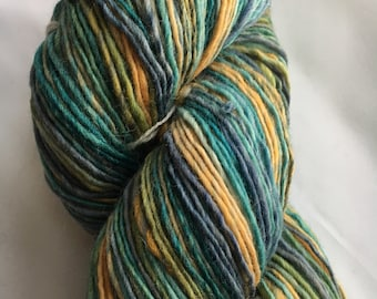 Handspun Yarn: Quackenbush