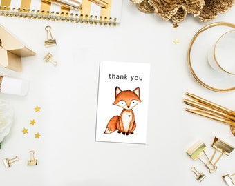 Fox Thank You Tags. Fox Party Tags. Fox Favor Tag. Woodland party favor tags. Fox Tag. Birthday Favor Tag. Woodland Party Tag. Woodland Tag