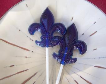 10 Fleur De Lis Lollipops New Orleans Hochzeit Party gefallen