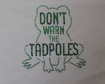 Handmade tote bag -Buffy inspired, Willows nightmare, dont warn the tadpoles