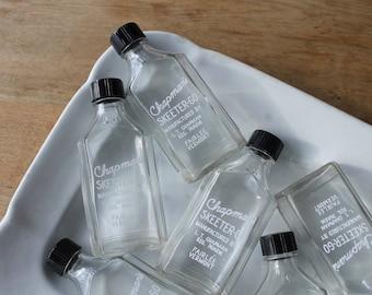 Skeeter-Go, Vintage mosquito repellant bottle, Glass pharmacy bottles, Chapman's Pharmacy, Fairlee Vermont, Apothecary bottle, Cabin decor