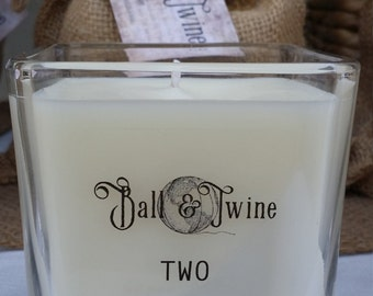 Ball & Twine TWO Soy Candle