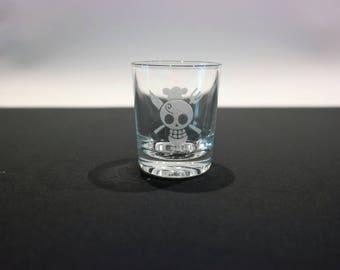 Glass shot One Piece - Sanji