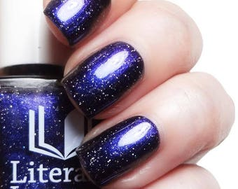 Miner's Gift - Blue Purple Multichrome Nail Polish