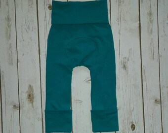 Maxaloones Grow With Me Pants Solid Jade Leggings