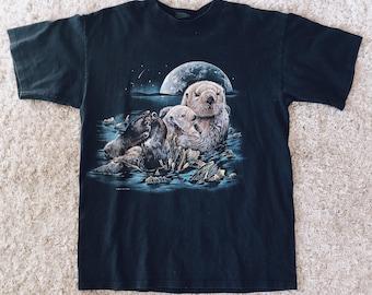 90's Habitat Sea Otter Tee