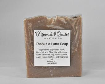 Thanks a Latte soap