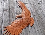 Bald Eagle Wood Wall Art,...