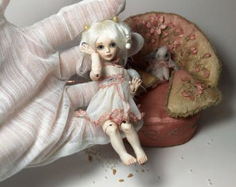Little Princess Porcelain OOAK BJD art doll by Julia Arts