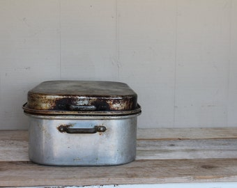 Vintage Wearever Aluminum Roaster