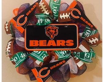Chicago Bears Wreath