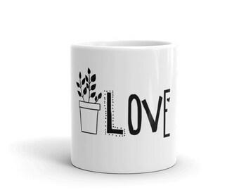 Plant Love Coffee Mug