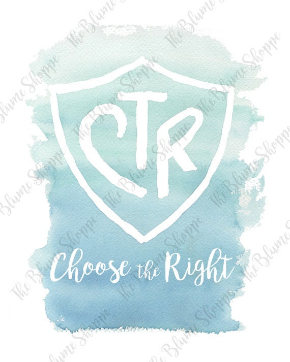 Choose the Right | Blue
