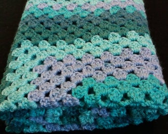 Granny Triangle Baby Blanket
