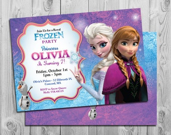 Frozen Party Printables Frozen Birthday Party Package
