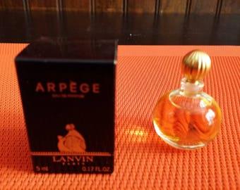Miniature perfume LANVIN Arpege perfume