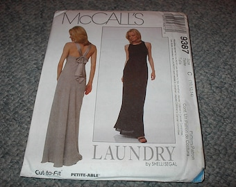 UNCUT UNUSED VINTAGE McCall's Pattern 9387 Laundry By Shelli Segal