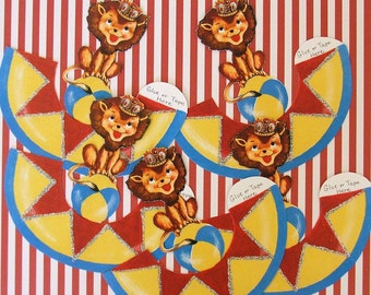 Circus  Lion Table Decorations
