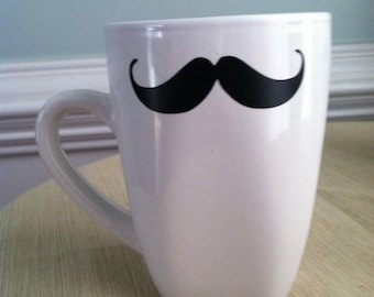 Fun Mustache Coffee Mug