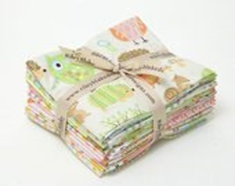 Owl and Company Fat Quarter Bundle by Riley Blake. FQ-4940-12