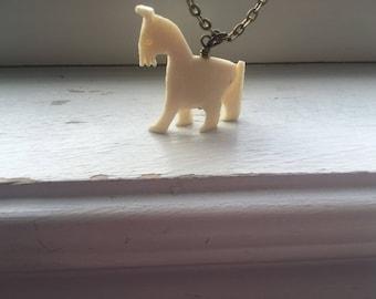 Dala Horse Necklace - Swedish Horse - Horse Necklace