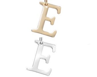 "Letter ""E"" (silver or gold tone) [5 pieces]"