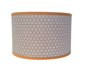 SMALL LAMPSHADE PATTERN STARS MOLES