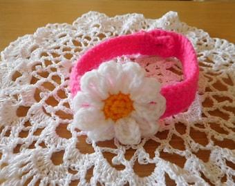 Free shipping, dog accessory,dog collar,crochet dog collar,crochet dog accessory,handmade collar