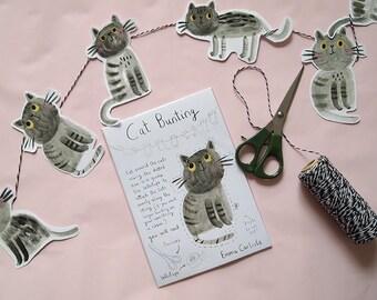 Cat Bunting
