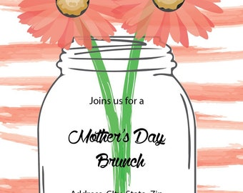 Mother's Day Brunch Invitation