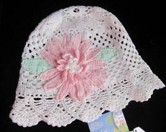 Girls Cloche Panama Hat, Baby Girls Sun Hat, Girls Cloche Sun Hat, Girl Summer Hat, Baby Girls Sun Hat, Brim Summer Panama Hat