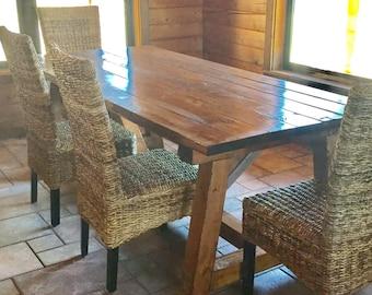 Rustic Chic Farmhouse Table