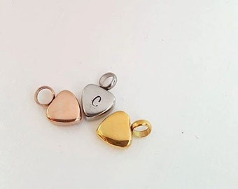 Cremation Heart Urn Custom Personalized  Charm Memorial Pet Jewelry Cremation Jewelry In Memory Mommy of an Angel Always by My Side Angel
