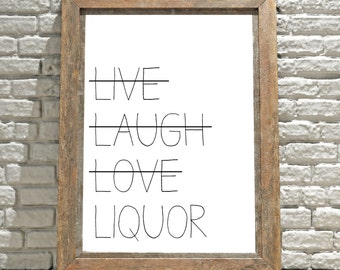Printable Wall Art, Funny Wall Art, Kitchen Decor, Wall Art, Funny Signs, Dorm Room Decor, Digital Print, Funny Quotes, Printable Signs