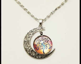 """Tree of Life Necklace """"sunfire"""""""