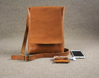 Leather messenger bag ,handmade leather bag ,cross body ,leather cross body,brown leather bag,