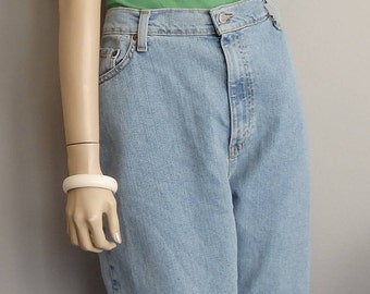 vintage Levi Strauss High Waist 90s Mom Jeans Denim Jeans 36 x 30