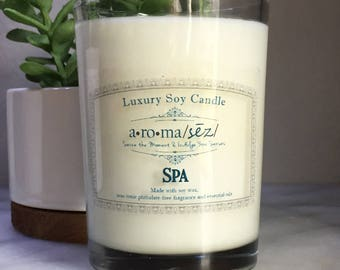 Spa Soy Candle