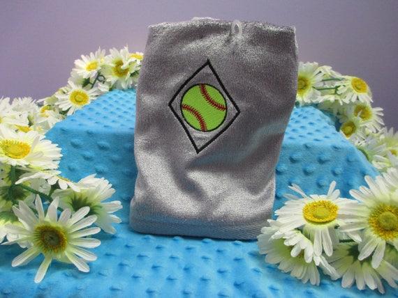 Sports Towel Personalized Softball-FREE SHIPPING