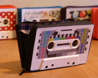 Cassette tape coin purse