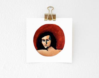 Little Woman Print