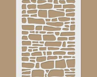 Brick Wall Stencil