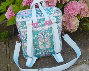 The Bookbag Backpack Bag PDF Advanced Sewing Pattern - Instant download