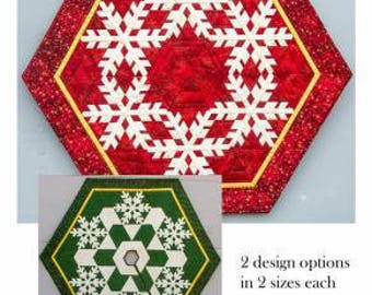 Snow Dreams Christmas Tree Skirt  or Table Topper Pattern     #CQ5482