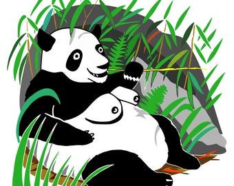 Panda Tits Print *FREE UK DELIVERY!*