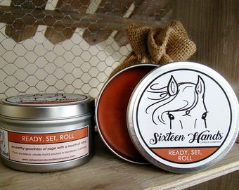 READY SET ROLL - Equestrian Gifts - Scented Candles - Equine Gifts - Horse Candles -  Gifts For Horse Lovers